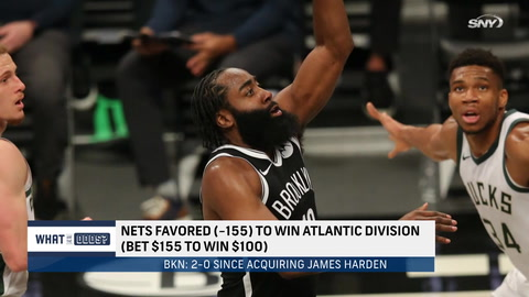 What are the odds the Nets win the Atlantic Division?