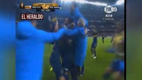 Benedetto anota para poner a ganar a Boca 1-0 ante River