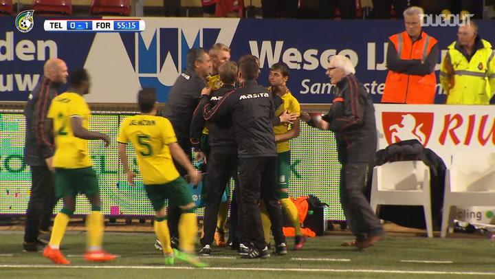 André Vidigal's impressive hat-trick vs SC Telstar