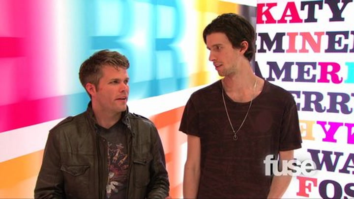Shows: Top 100 Hottest Hooks: Hottest Hooks Recap Which Song Makes 3OH!3 Think Of Shrimp?