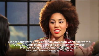 Watch: Joy Villa tells Dana, celeb said 'I wish I could step on' her dress