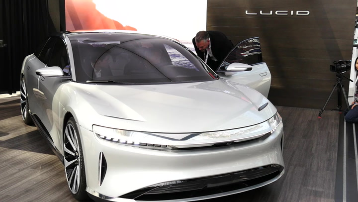 The Lucid Air Electric Luxury Sedan Is Faster Than A Ferarri