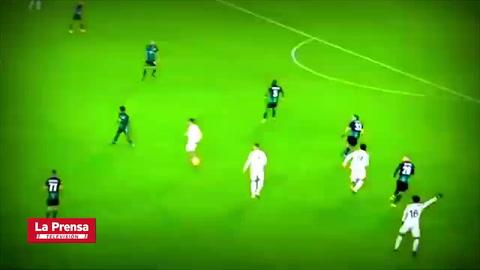 Cristiano Ronaldo anota golazo de zurda frente al Ferencvaros en la Champions League