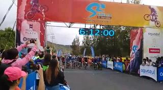 Así fue la salida de la 7ma Vuelta Ciclística de Diario El Heraldo