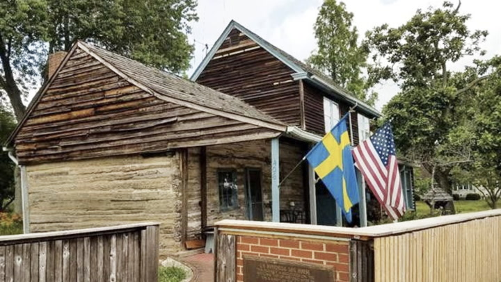 History for Sale: The Oldest Log Cabin in America