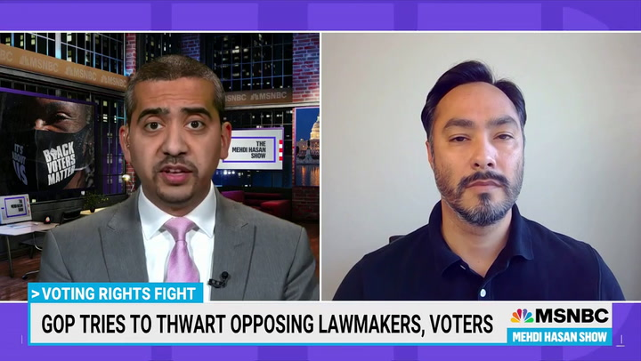 Joaquin Castro on TX Voting Law: GOP 'Doing Everything They Can to Hang on to Power'