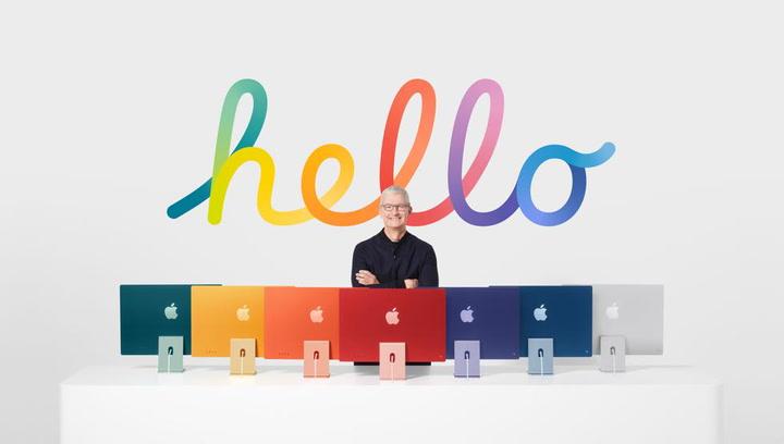 Así somn los nuevos iMac de Apple