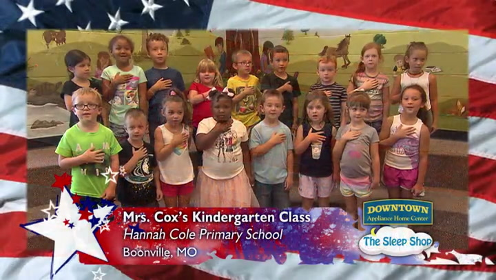 Hannah Cole - Mrs. Cox - Kindergarten