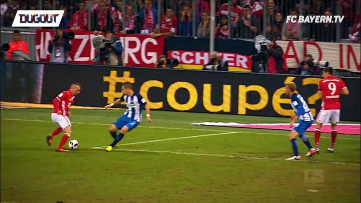 Top 5 goals vs Hertha BSC