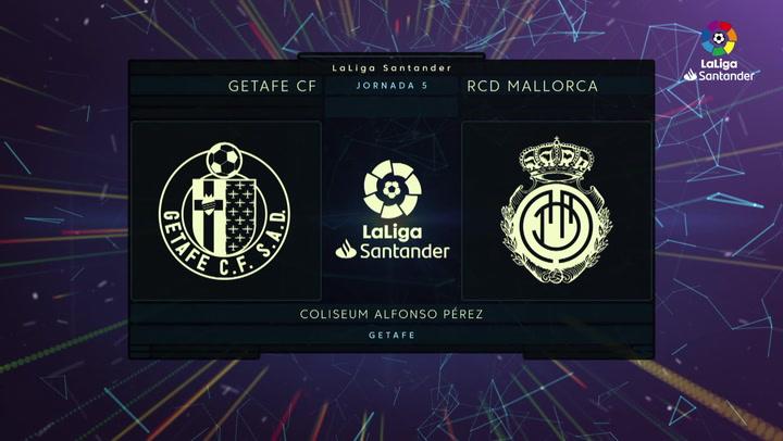 LaLiga Santander (J5): Resumen y goles del Getafe 4-2 Mallorca