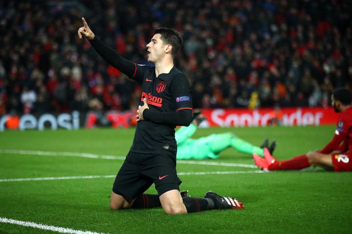 Morata marcó lesionado y pidió perdón a la afición