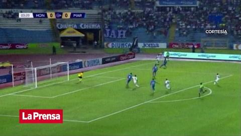 El 1-0 de Honduras ante Martinica