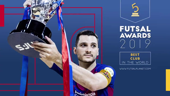 El Barça de Fútbol Sala, candidato entre los 10 mejore equipos del mundo