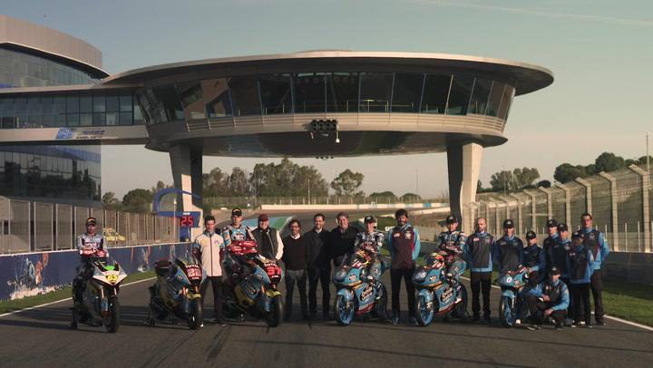 Estrella Galicia 0,0 presenta sus equipos de Moto2 y Moto3