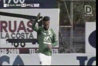 ¡Gol de Marathón! Carlos