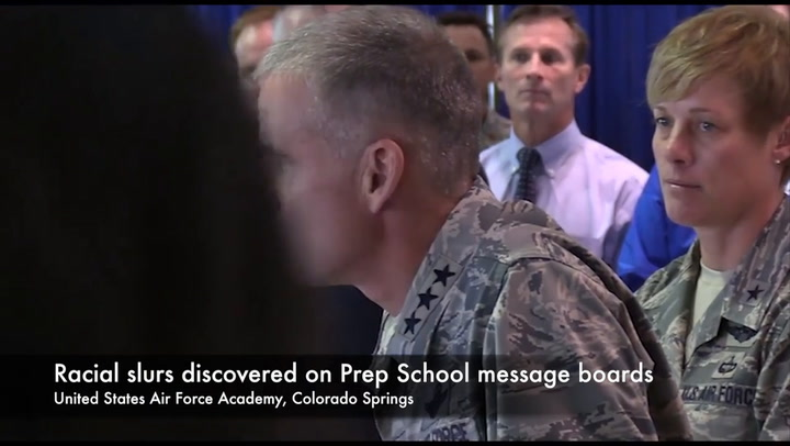 Air Force Academy Leader With Stern Message After Racial Slurs Were Discovered At Prep School-5592472427001