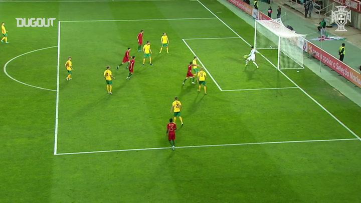 Bernardo Silva slots home vs Lithuania