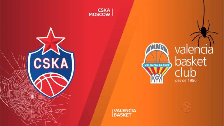 CSKA Moscow - Valencia Basket