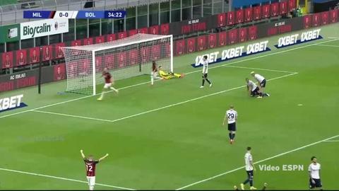 AC Milan 2-0 Bologna (Serie A)