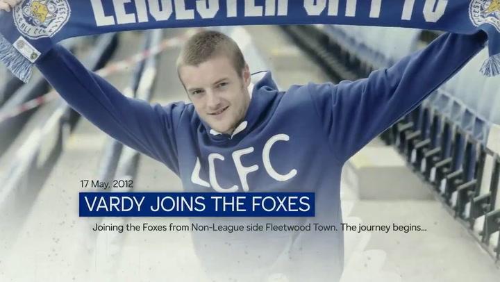 Jamie Vardy renueva con el Leicester City