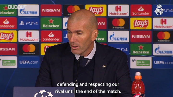 Zidane: 'We can be happy after Galatasaray win'