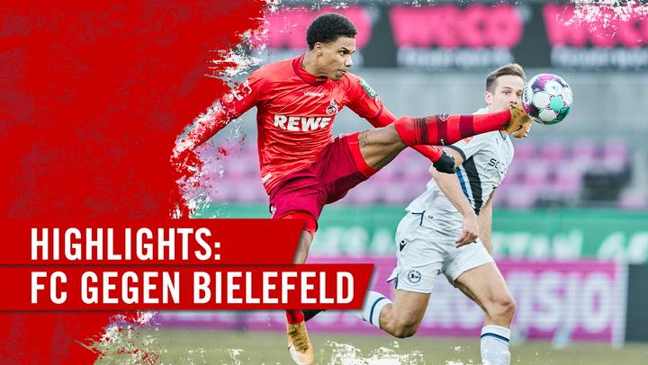 Highlights 1. FC Köln - DSC Arminia Bielefeld (2020 - 2021)