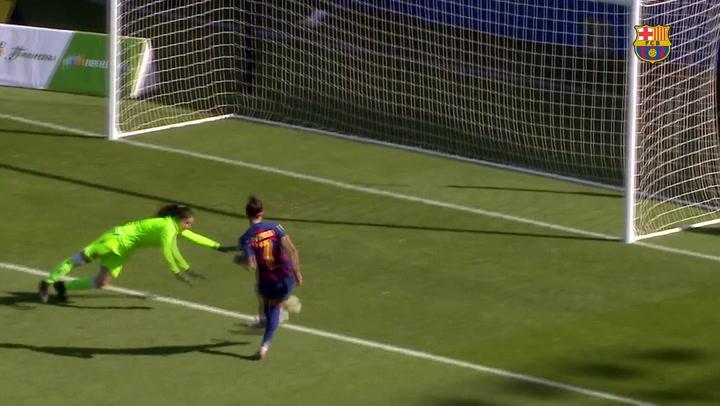 El resumen del Barça - Levante (5-0) de la Liga Iberdrola