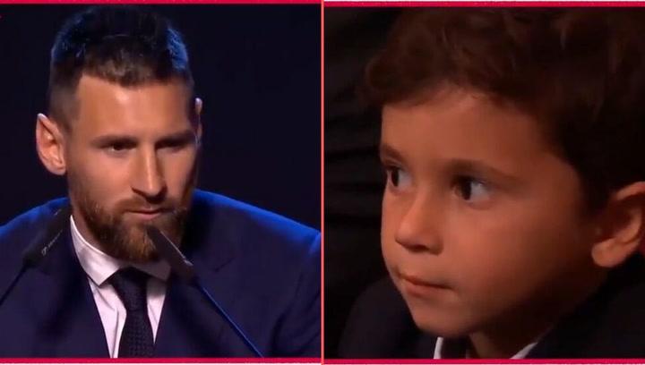 Así fue el discurso deLionel Messi tras llevarse el FIFA The Best