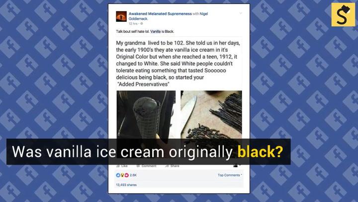 teen black vanilla cream