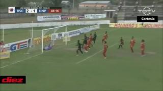 Bryan Johnson descuenta para Honduras Progreso con un gol de cabeza al Real Sociedad