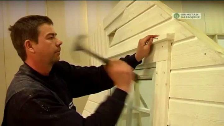 Bygge garasje: Hvordan bygge gavl