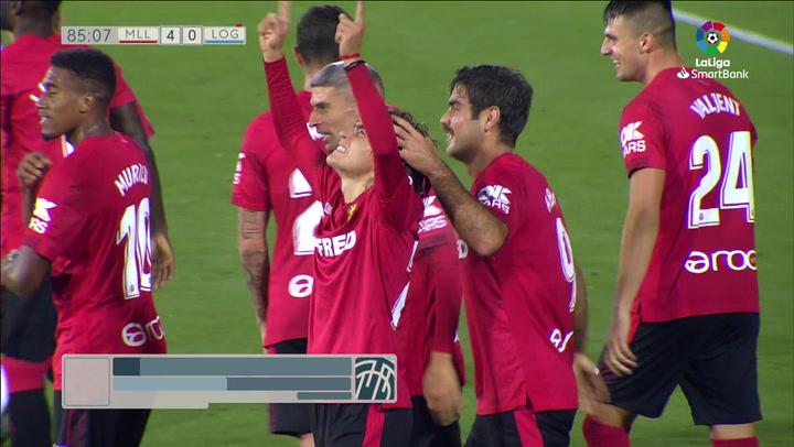 El histórico primer gol de Luka Romero con 16 años y 11 días: control y zurdazo descomunal