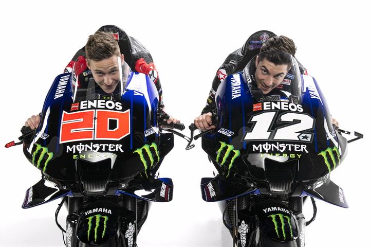 Así ha sido la presentación del equipo Monster Energy Yamaha de Fabio Quartararo y Maverick Viñales