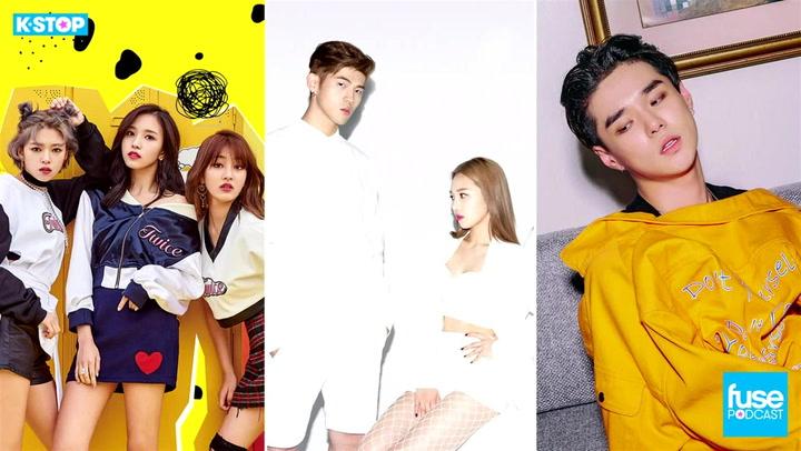 Twice, K.A.R.D, Dean and Baek Yerin: K Stop
