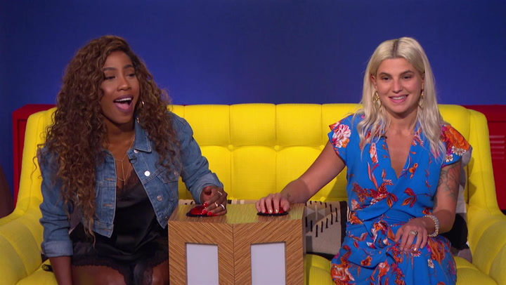 Sevyn Streeter and Carly Aquilino Face Off in 15 Seconds of Shame: Trivial Takedown Sneak Peek