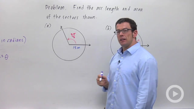 Radian Measure of Angles - Problem 4