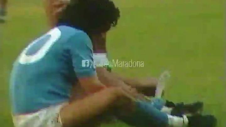 Algunas de las entradas más escalofriantes que recibió Maradona durante su carrera