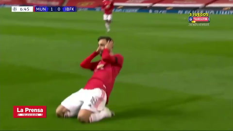 Manchester United 4 - 1 Basaksehir (UEFA Champions League)