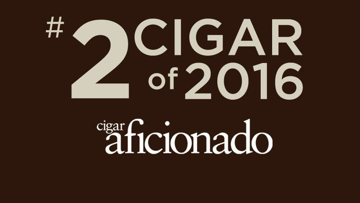 No. 2 Cigar of 2016