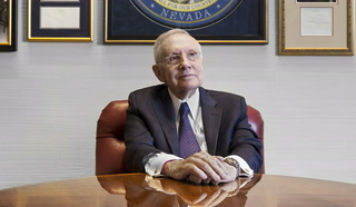 Harry Reid talks life, politics
