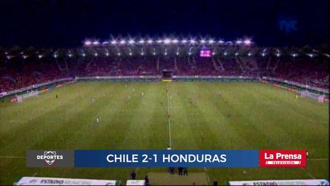 Chile 2-1 Honduras