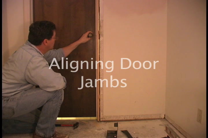 The American Garage Fixing a Door Jamb