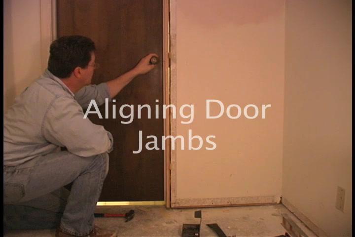 The American Garage Fixing a Door Jamb
