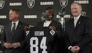 Antonio Brown's Raiders era is over before it begins
