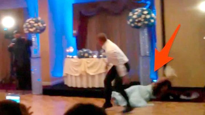 Brudgommen tøffer seg og ødelegger bryllupet