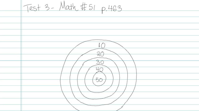 Test 3 - Math - Question 51