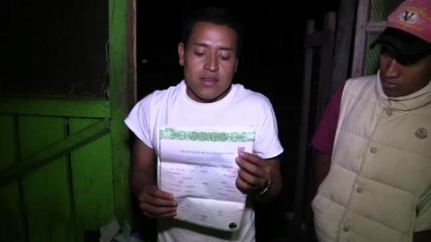 Casi 300 hondureños que dejaron la caravana de migrantes inician retorno al país