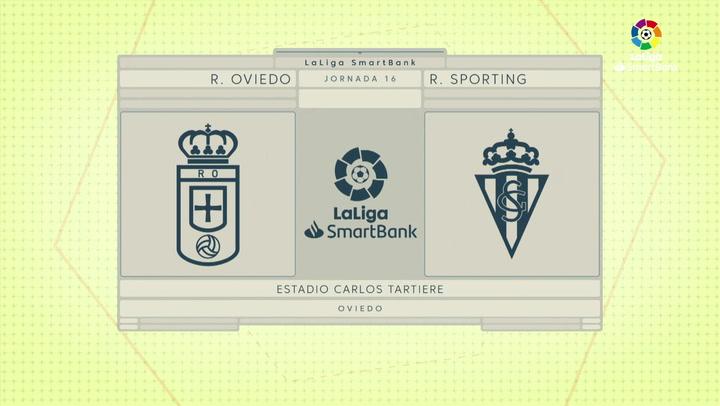 LaLiga SmartBank (J16): Resumen del Oviedo 0-0 Sporting