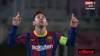 Barcelona explosivo: Se bajaron a Messi en el área ¡penal y gol!