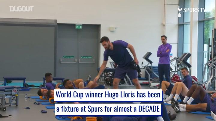 Hugo Lloris' consistency as Spurs number one